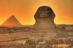 Pyramids and Sphinx, Giza Egypt Places Around The World, Oh The Places You'll Go, Places To Travel, Places To Visit, Around The Worlds, Sphinx Egypt, Giza Egypt, Atlantis, Wonderful Places