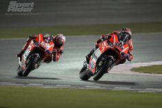 Team Ducati at 2013 Qatar MotoGP