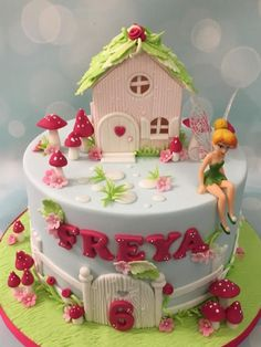 Tinkerbell fairy cake by Shereen