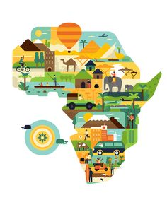 Africa is awesome on Behance
