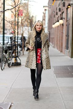 amazing leopard coat