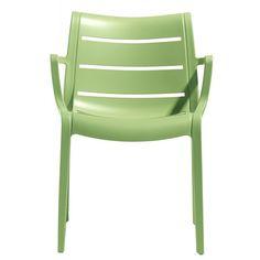 Sunset stoel groen - Scab