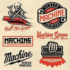 Screen Design Shirt New Ideas Typography Logo, Typography Design, Branding Design, Lettering, Mexico Logo, Logo Luxury, Silkscreen, Badge Logo, Retro Logos