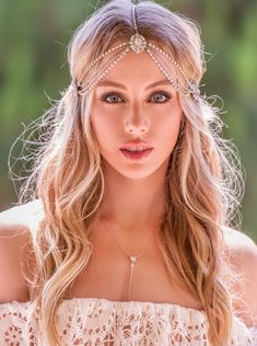 Bohemian Wedding Hair Accessories, Silver Bridal Headpiece, Bohemian Wedding Headpiece, Bohemian Headpiece, Wedding Headpiece, Hair, H221 by AMYOBridal on Etsy https://www.etsy.com/listing/242192641/bohemian-wedding-hair-accessories-silver