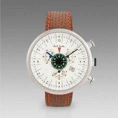 Paul Smith Watches | Cream Cycle Eyes Chronograph Watch