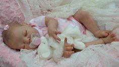 """~*Kate's Cradles Nursery* ~ Reborn Baby Girl """" ANNIE """" by ADRIE STOETE   eBay"""