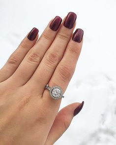 Amazing ring from ! Girls Best Friend, How To Do Nails, Red Velvet, Jewelery, Engagement Rings, Diamond, My Love, Amazing, Instagram