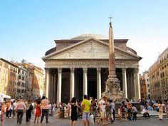 #Vacanze a #Roma: l'estate 2013 nell'arte della città eterna - #Pantheon www.veraclasse.it/articoli/viaggi/itinerari/vacanze-romane-lestate-2013-nellarte-della-citt-eterna/10511/