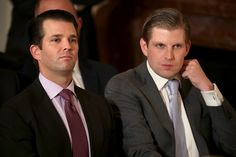 In an interview with Forbes, Donald Trump's dumbest son Qusay gives away the game: Even the ruse of Trump handing ownership of his companies to his own sons while in elected office, ownership that ...