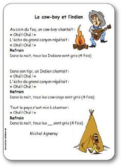 Chanson Le cow-boy et l'indien Michel Agneray, chanson cowboy et indien                                                                                                                                                                                 Plus Animated Cow, Indian Party, Le Far West, Cowboy And Cowgirl, Cowboys, Westerns, Native American, Animation, Girl Birthday