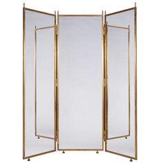 antique vanity mirrors on stand | vintage floor standing mirror full ...