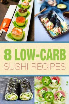 Japanese Diet - Thinking of making low carb sushi rolls with konjac (shirataki) rice. Im craving sushi! Discover the World's First & Only Carb Cycling Diet That INSTANTLY Flips ON Your Body's Fat-Burning Switch Low Carb Sushi, Low Carb Lunch, Low Carb Keto, Low Carb Recipes, Healthy Recipes, Healthy Sushi, Radish Recipes, Meal Recipes, Healthy Fats