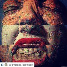 #Repost @augmented_aesthetic  #deepdream by google_deep_dream