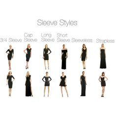 """Sleeve Styles"" by ukulele-emily on Polyvore"