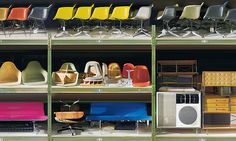 Origins and Holdings of the Vitra Design Museum Collections | Eames Designs