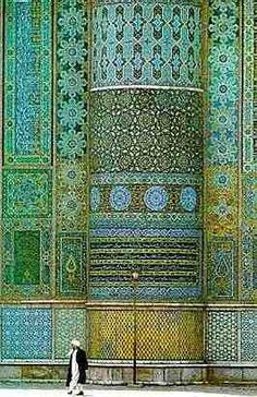 Friday Mosque of Herat, Afghanistan (مسجد جمعه هرات), also known as the Jumah Mosque.