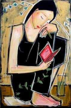 Woman Reading by Denis Chiasson Reading Art, Woman Reading, Reading Books, Illustrations, Illustration Art, Thomas Carlyle, Books To Read For Women, Action Painting, World Of Books