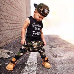 2 piece clothing set autumn Fall set stuntin is my forte Toddler Boy Fashion, Little Boy Fashion, Baby Girl Fashion, Kids Fashion, Fashion 2018, Dark Fashion, Indian Fashion, Fashion Trends, Boys Clothes Style