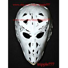 Hockey mask, Hockey goalie, NHL ice hockey, Roller Hockey, Hockey goalie mask, Hockey helmet Paul Harrison mask HO80