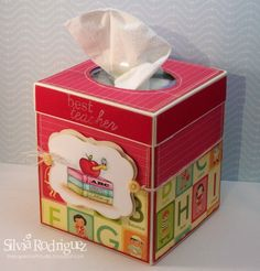Cute Kleenex Box Covers... @Julia Johnston... I still use mine everyday at work!