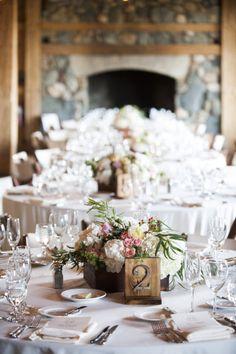 numeros para mesa de bodas rusticas - 25 ideas de numeros para mesas de bodas!