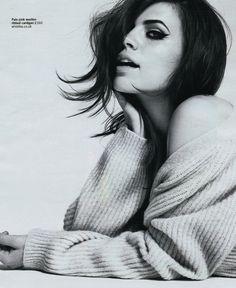 Hayley Atwell - David Oldham - 2011. Makeup by Lisa Eldridge