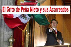Los Acarreados al Grito de Peña Nieto en el Zócalo
