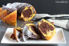 Dale un sabor buenísimo a un bizcocho de calabaza añadiendo cacao
