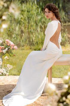http://www.weddinginspirasi.com/2013/09/27/papilio-2014-wedding-dresses-sole-mio-bridal-collection/ papilio #wedding dresses 2014 donatella open back long sleeve gown #weddingdress #weddings #weddinggown