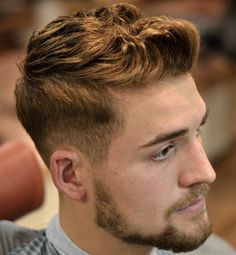 Taper With Facial Hairstyle