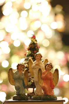 Vintage Nativity Angels by moxie-girl, via Flickr