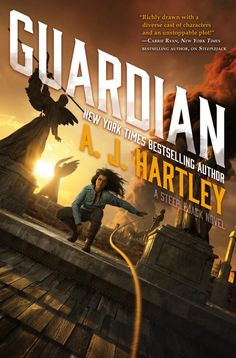 #CoverReveal  Guardian (Steeplejack, #3) by A. J. Hartley