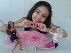 Aprenda fazer chinelos, pantufas e vendas para Barbie