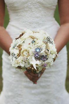 fabric bouquet so I won't be sneezing :)