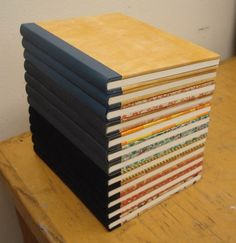 Sewn Board Bindings--good documentation of the process by Henry Hébert