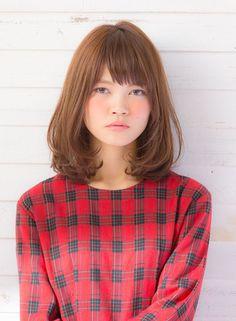 【ミディアム】ワンカールでふんわり重軽ミディアム/drive for gardenの髪型・ヘアスタイル・ヘアカタログ|2016冬春