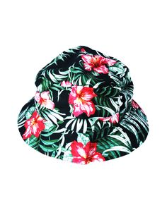 93f9215c3a057 FASHION FLORAL BUCKET HATS CAPS Floral Bucket Hat
