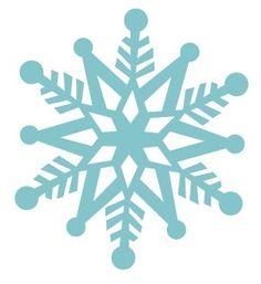 freebie snow flake svg #santa