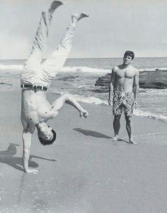 Bruce Lee and Van Williams (Green Hornet)