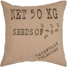 Surya Jute Pillow  In Store Now