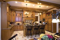Gorgeous Kitchen - Plan 065S-0038 | houseplansandmore.com
