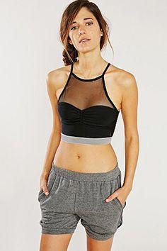 20 Sports Bras We'd Wear As Crop Tops #refinery29 http://www.refinery29.com/sports-bras#slide8