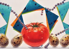Watermelon, Fruit, Drawings, Color, Colour, Sketches, Drawing, Portrait, Draw