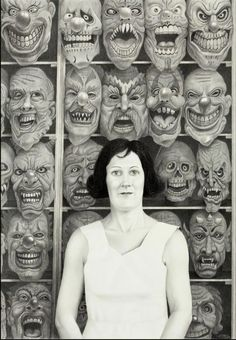 Laurie Lipton, Mask, 2008 ©