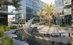Hans loidl 39 moderner brunnen 39 39 modern fountain for Hispano international decor llc abu dhabi
