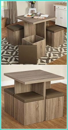 Twenty dining tables that are ideal in small spaces - living in the . - Twenty dining tables that are ideal in small spaces – living in a shoe box, # own # dining t - Furniture Styles, Home Decor Furniture, Living Room Furniture, Diy Home Decor, Furniture Design, Room Decor, Furniture Ideas, Modern Furniture, Small Dinning Room Table