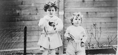 Black and white photograph of two children survivors of the RMS Titanic tragedy, April While these children are referred to as Louis and Lola, this may not be confirmed. Children Survivors of Titanic Tragedy. This image is available as a print. Rms Titanic, Titanic Sinking, Titanic History, Titanic Photos, Ancient History, Rare Photos, Vintage Photographs, Old Photos, Vintage Photos