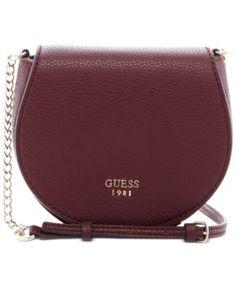 GUESS Cate Mini Saddle Crossbody Bag Guess Purses 2f354815cced5