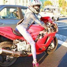 Pink heels? ok