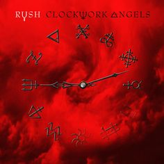 album cover art: rush - clockwork angels [2012]